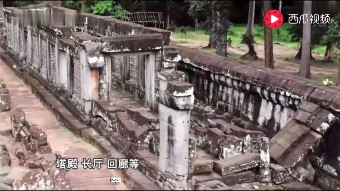 我在吴哥窟玩拼图,山东大汉在柬埔寨恢复远古文明,修复国宝.png