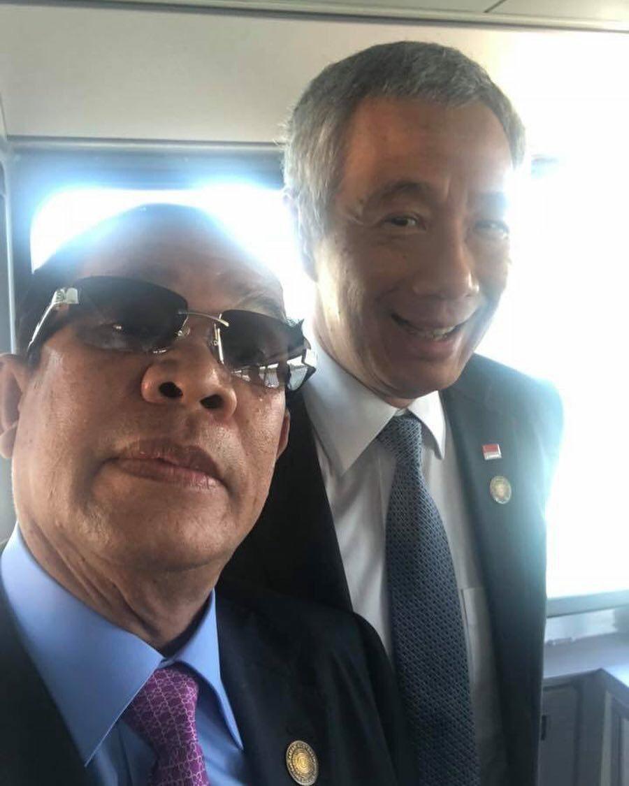 这张很有爱… 柬埔寨加油 要向新加坡看齐