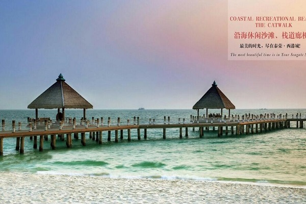 西港胜利海滩酒店式国际公寓(包租2年每年8%)
