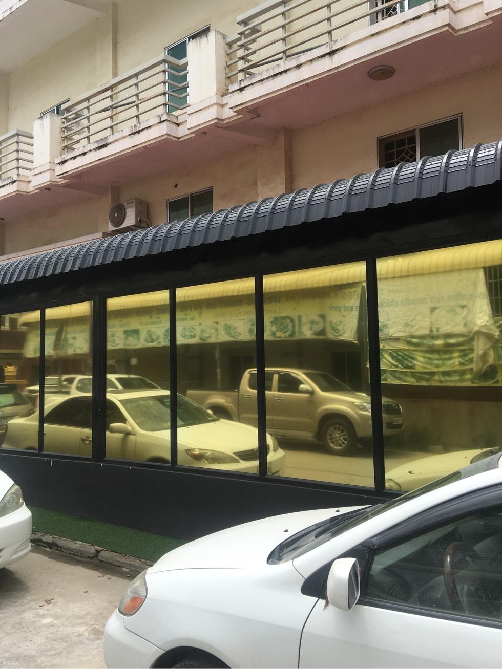 柬埔寨专业厂房、屋顶,门窗玻璃隔热
