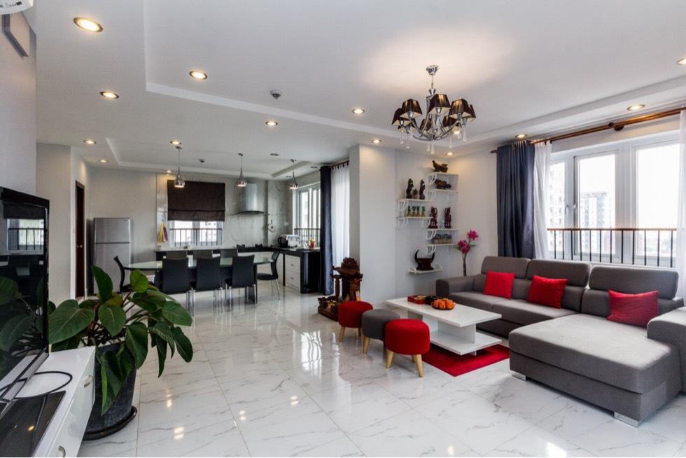 公寓出租 3房间