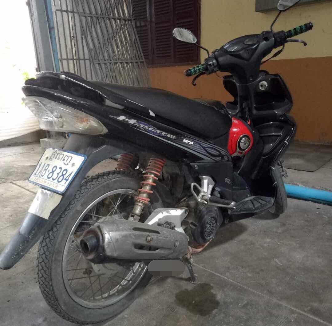 出售二手摩托车,300美金,成色看图!