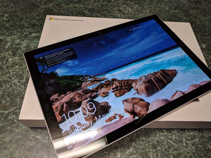 微软平板2017年款Surface Pro出售        售价: $780
