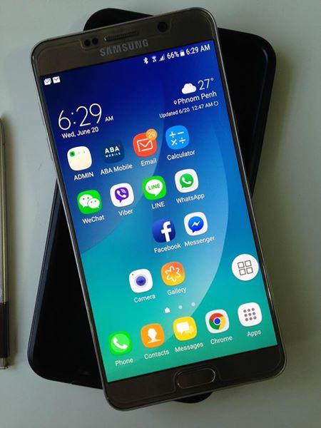 三星手机Note 5 售价220美元