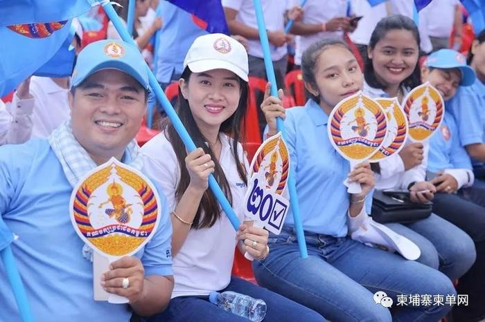 2018柬埔寨竞选宣传活动第一天