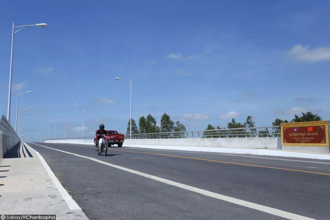 横跨湄公河和大海,柬埔寨的桥梁中国功不可没!
