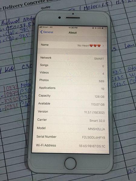 苹果手机7plus 128gb        售价: 455$