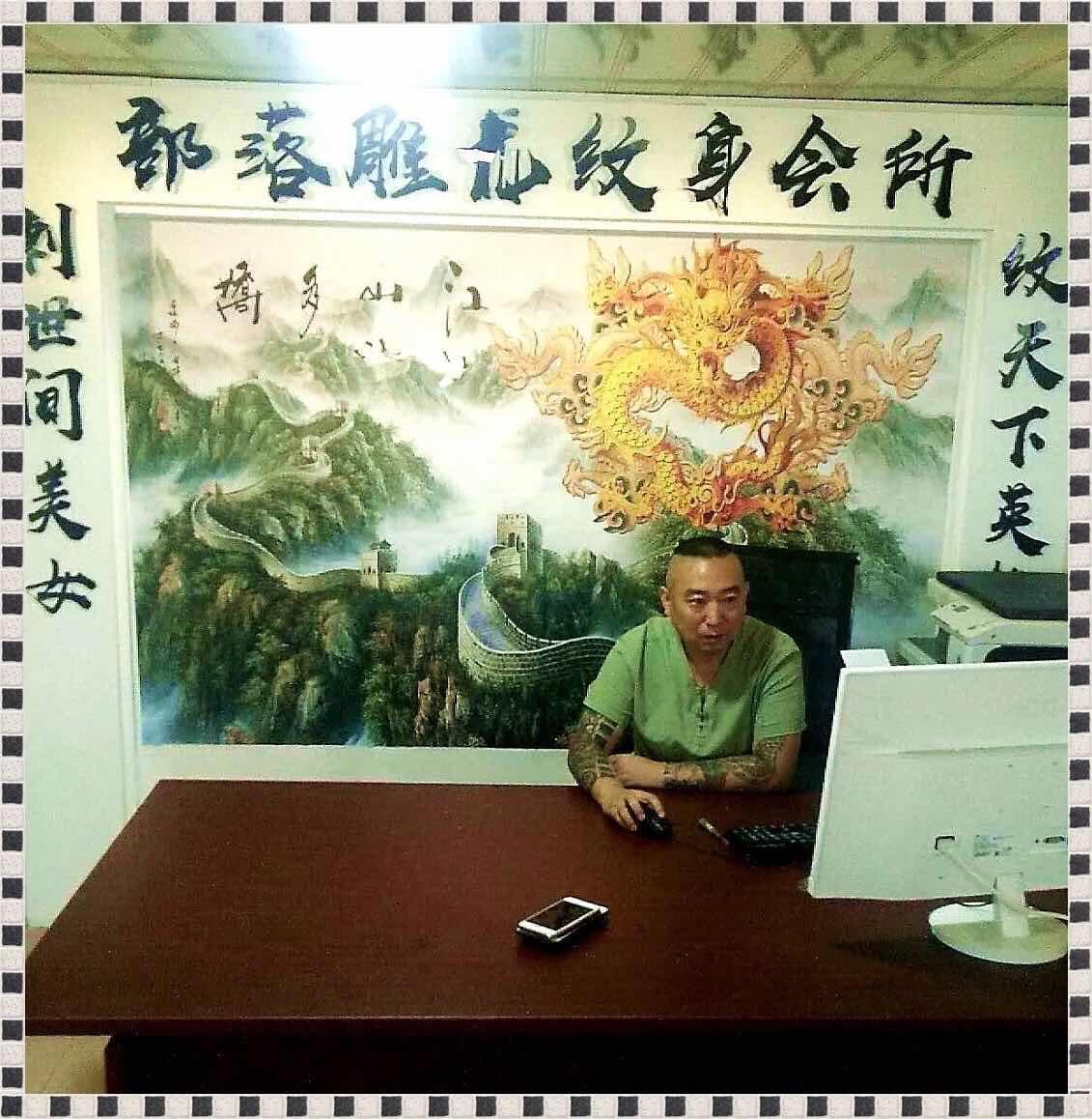 中国纹身大师来到柬埔寨了!