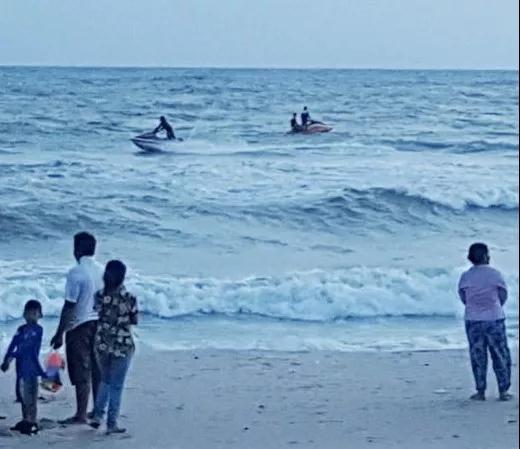 中国人在西港海边被浪卷走失踪!