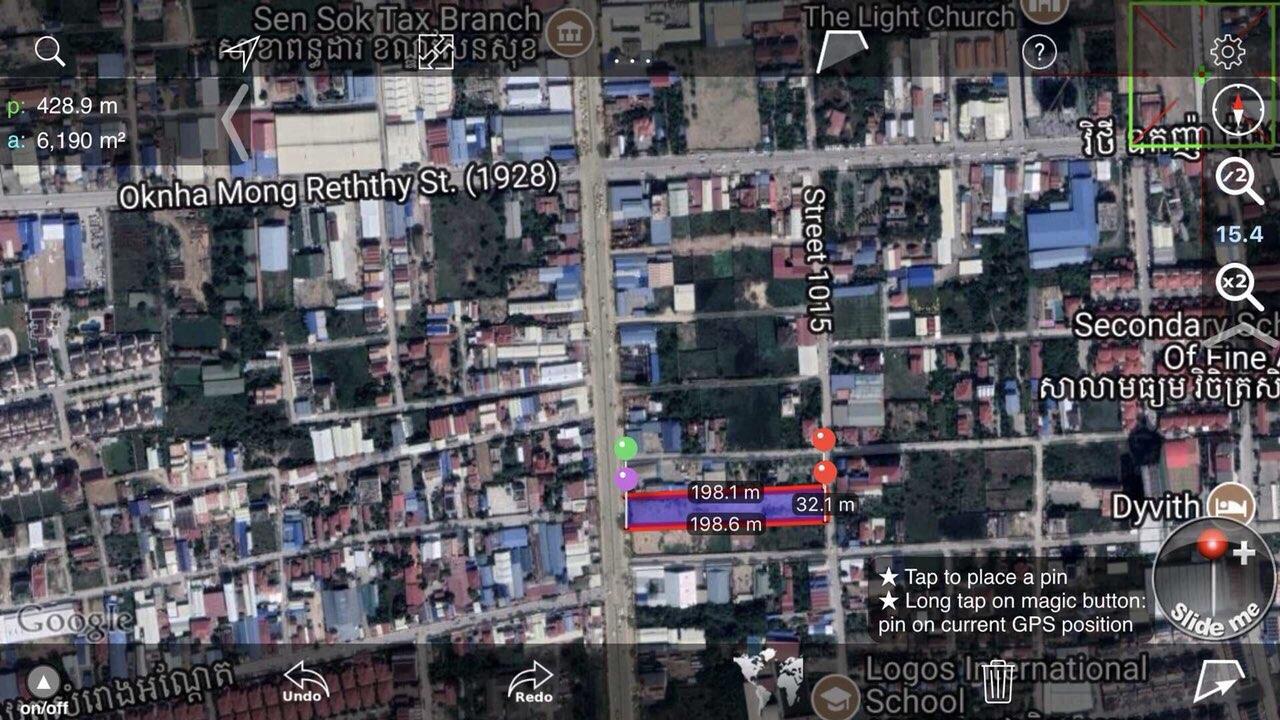 新永旺2.河內路6000多平米土地租.前后双面大路