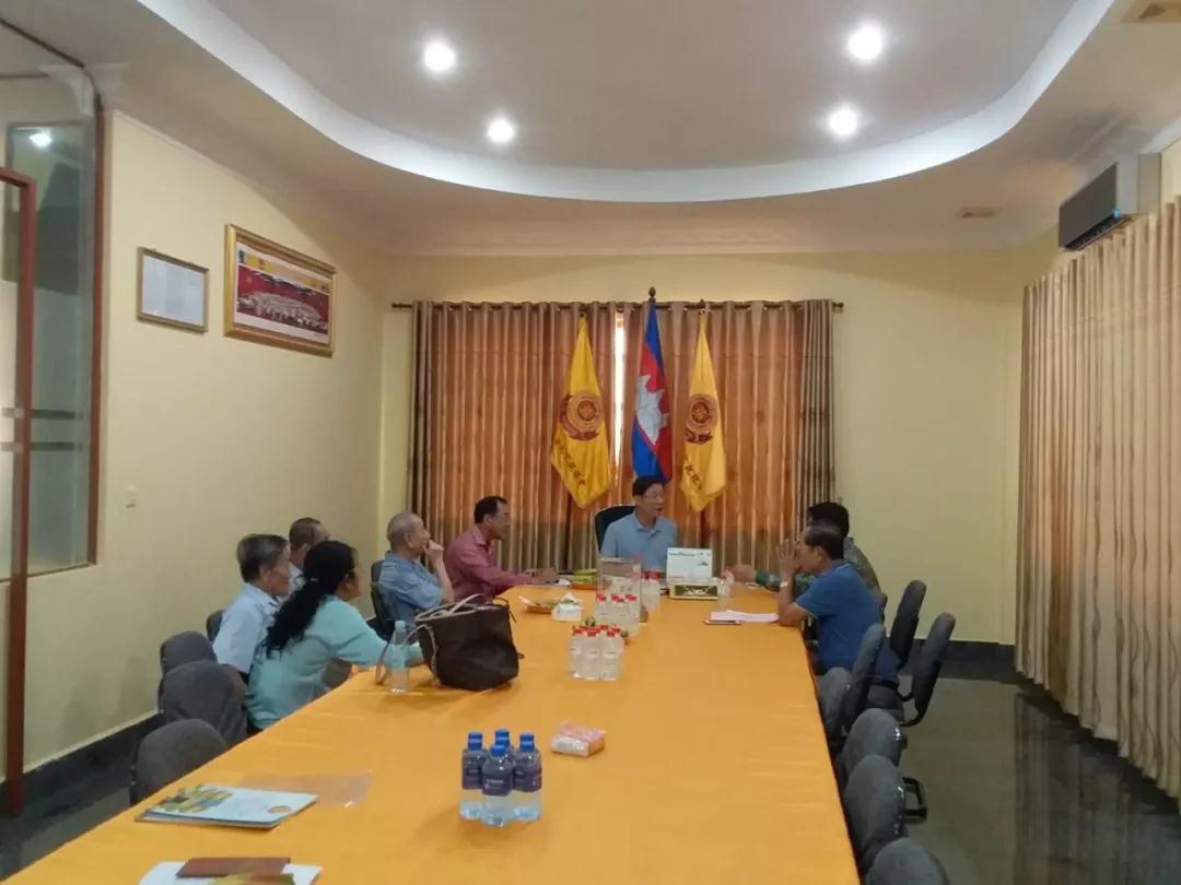 柬埔寨江夏黄氏宗亲召开全体理事会议商讨多项事宜