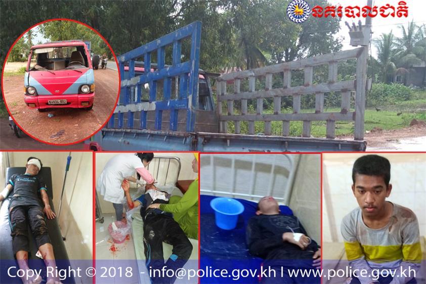 西省波里努县‧24人车祸受伤