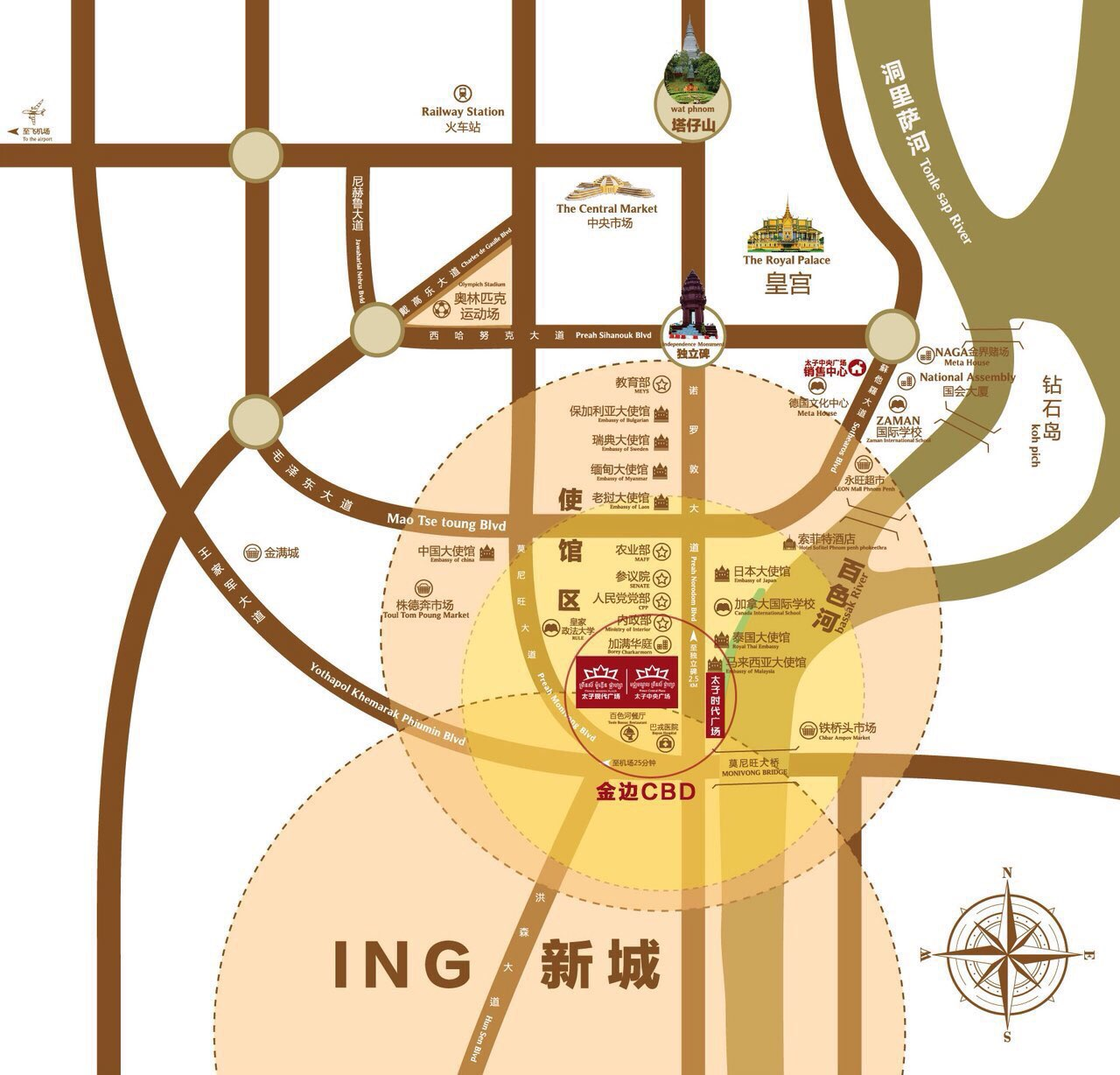 太子现代广场小户型精装公寓转让