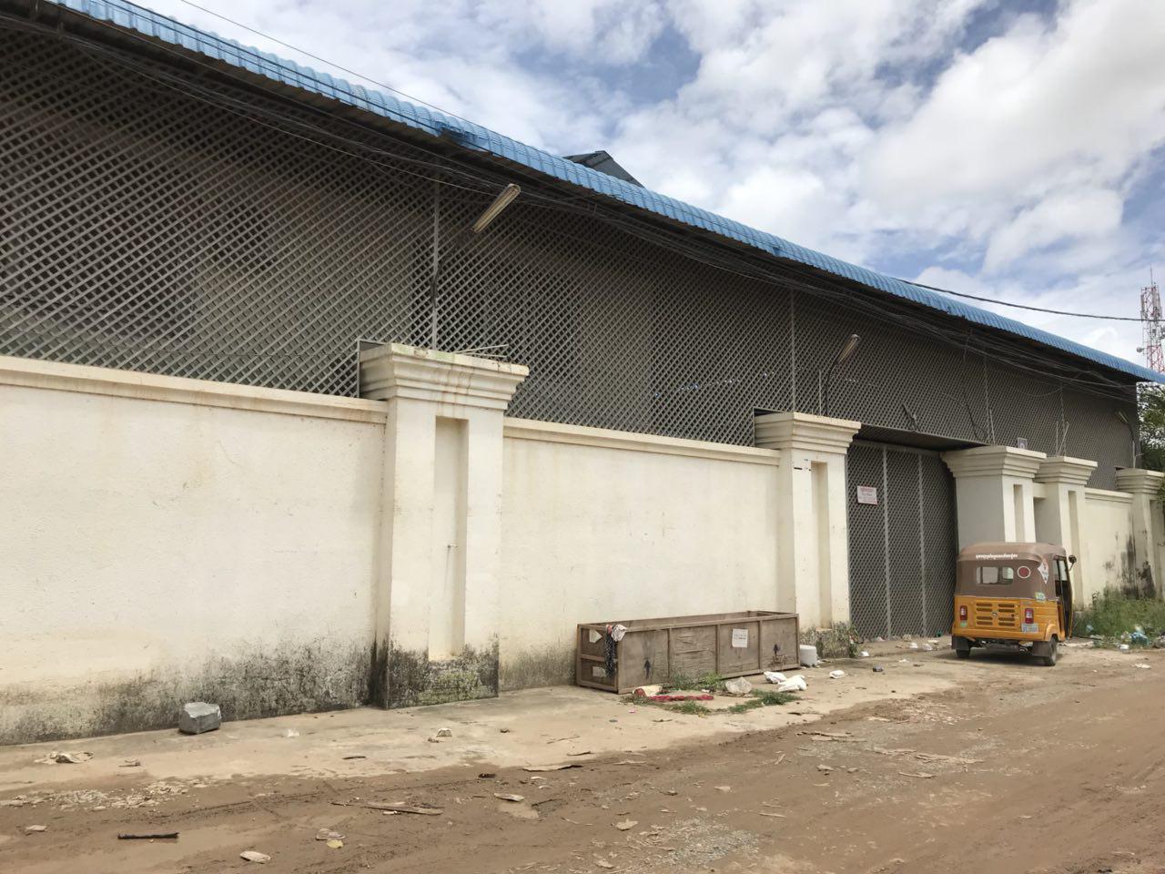仓库出租 - 新的金边公社-40米x 45米(1800平方米)