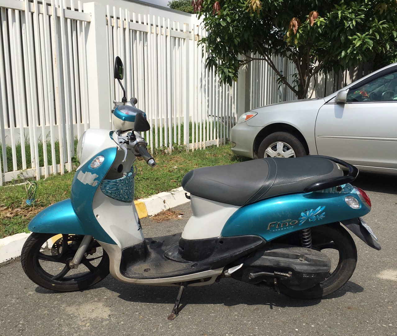 出售一辆Yamaha踏板摩托