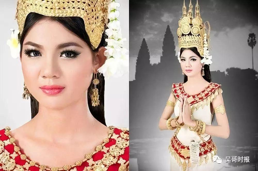 柬式网红美女,原来更有个性