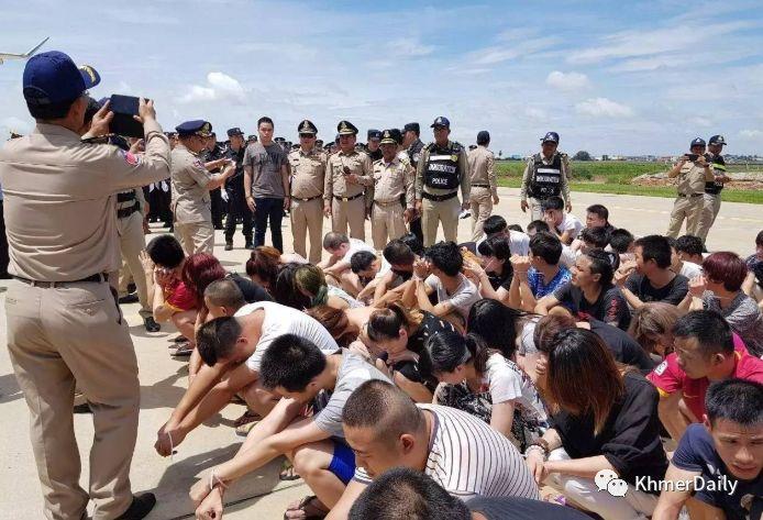 近5年柬埔寨政府处罚7000余名非法外劳