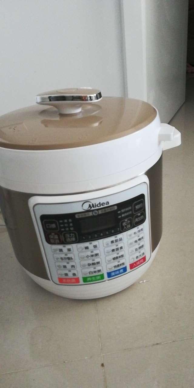 自用不到一个月高压锅  电热水壶