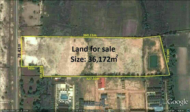 土地出售 -36,172平方米-950美元/平方米- 奥特雷斯海滩,西...