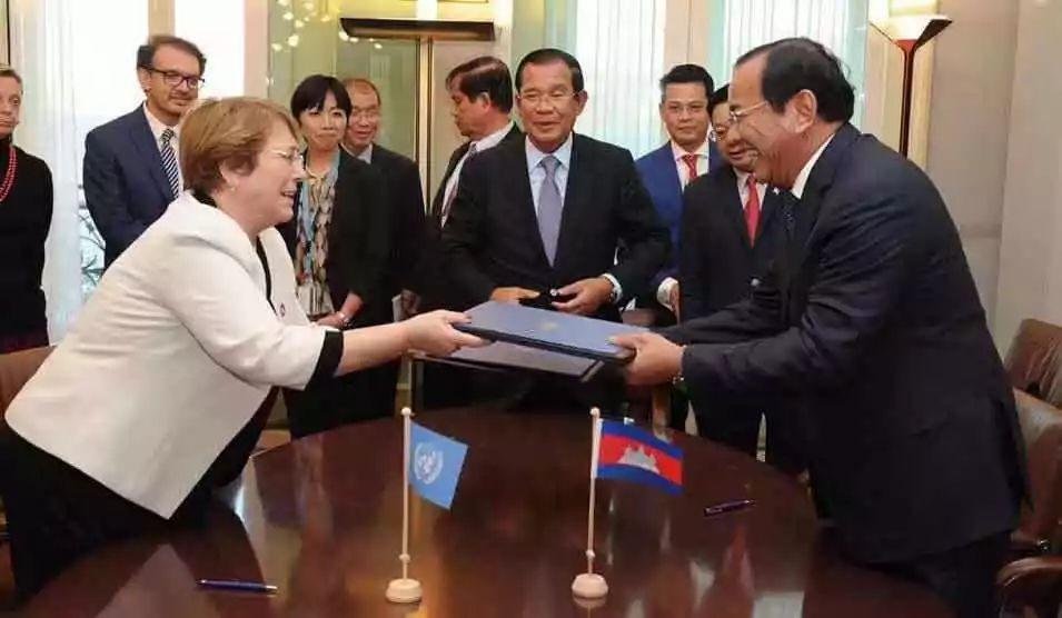 洪森:评估柬人权得先了解柬埔寨