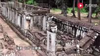 我在吴哥窟玩拼图,山东大汉在柬埔寨恢复远古文明,修...